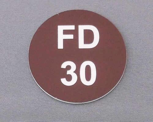 Fire Door Labels